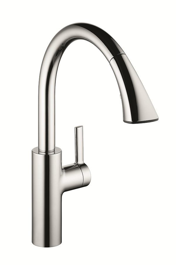 kwc luna kitchen faucet kwc saros faucets builder magazine products faucets 20277