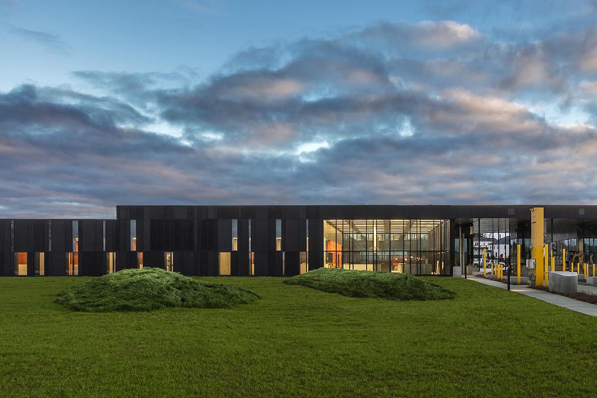 U S Land Port Of Entry Architect Magazine