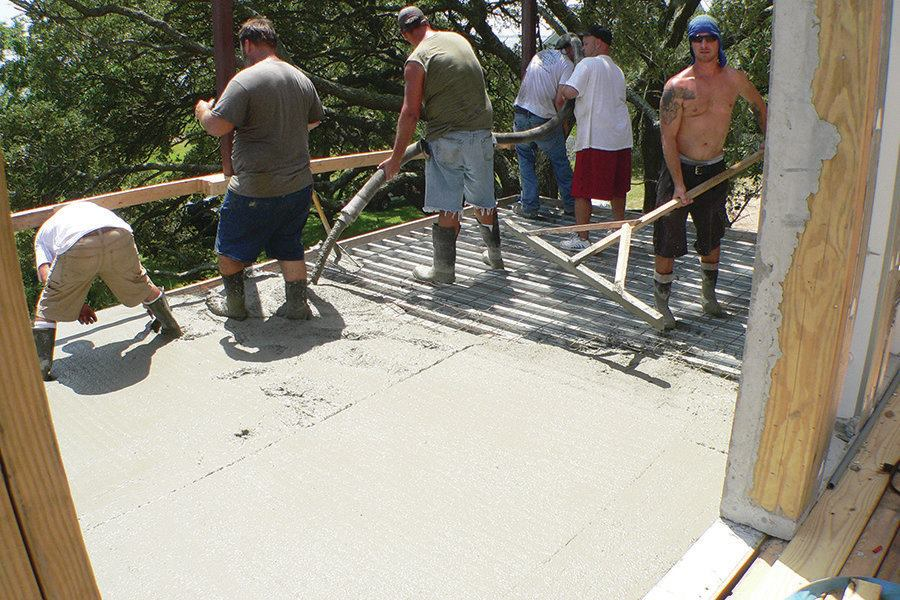 Concrete Decks For Coastal Homes Professional Deck Builder
