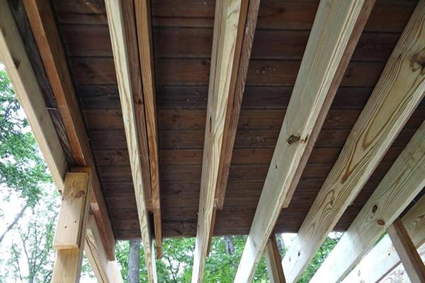 Sistering Vs Replacing Joists Professional Deck Builder