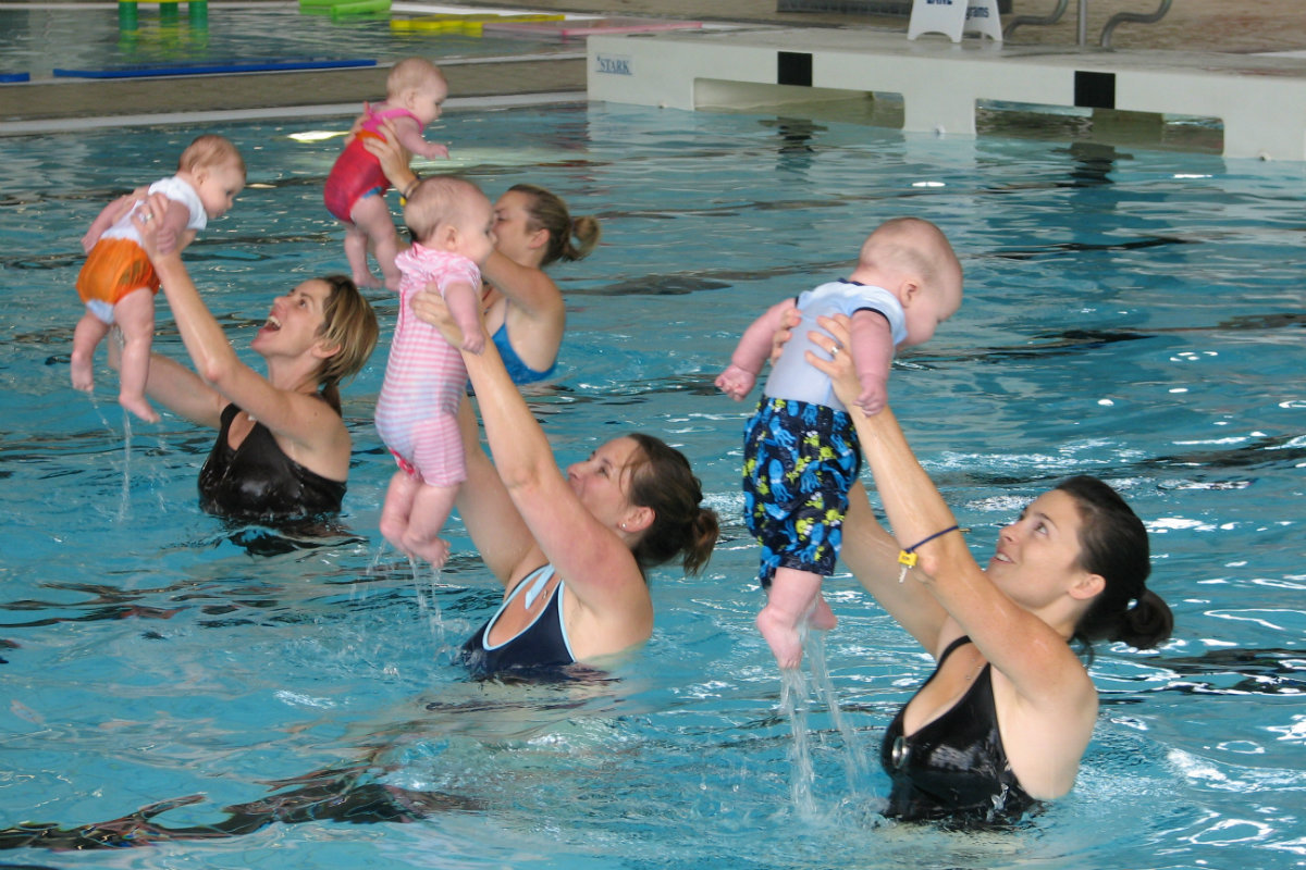 Here S A Niche Certification Mom And Baby Aquafit