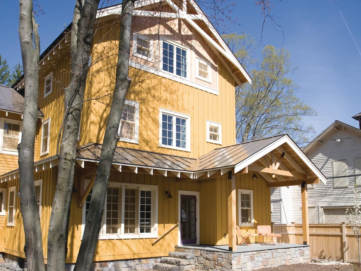 sustainable single family home