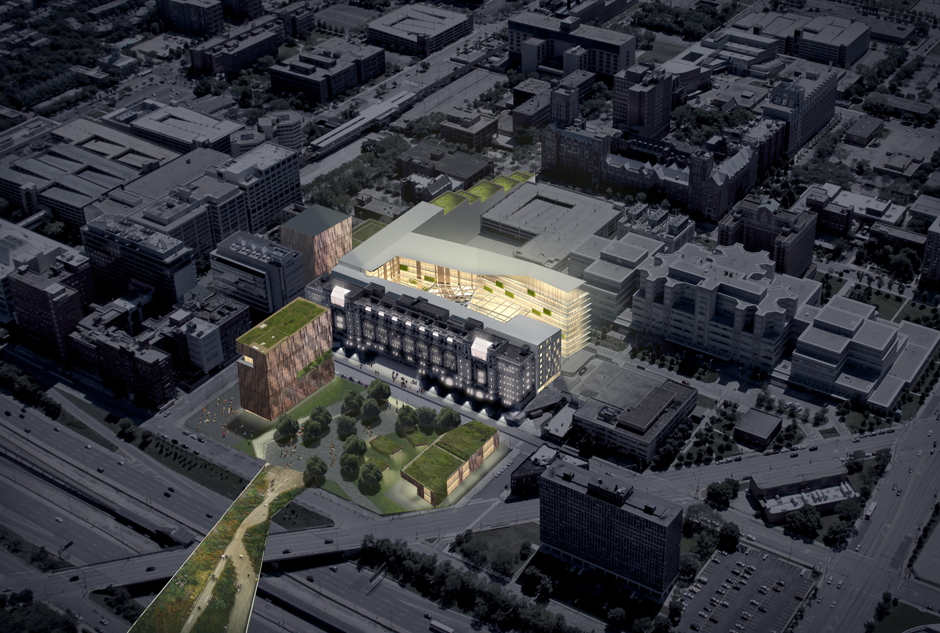 Old Cook County Hospital Adaptive Reuse Architect