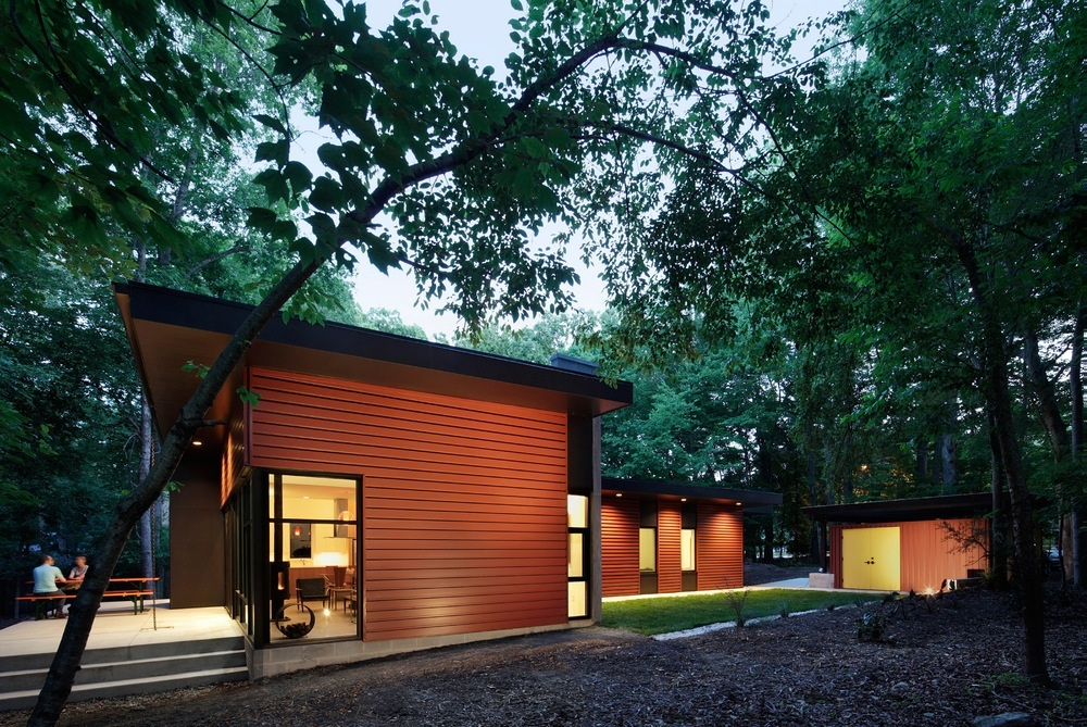 North carolinas 2015 matsumoto prize awards six modern houses architect magazine awards award winners competitions design residential projects
