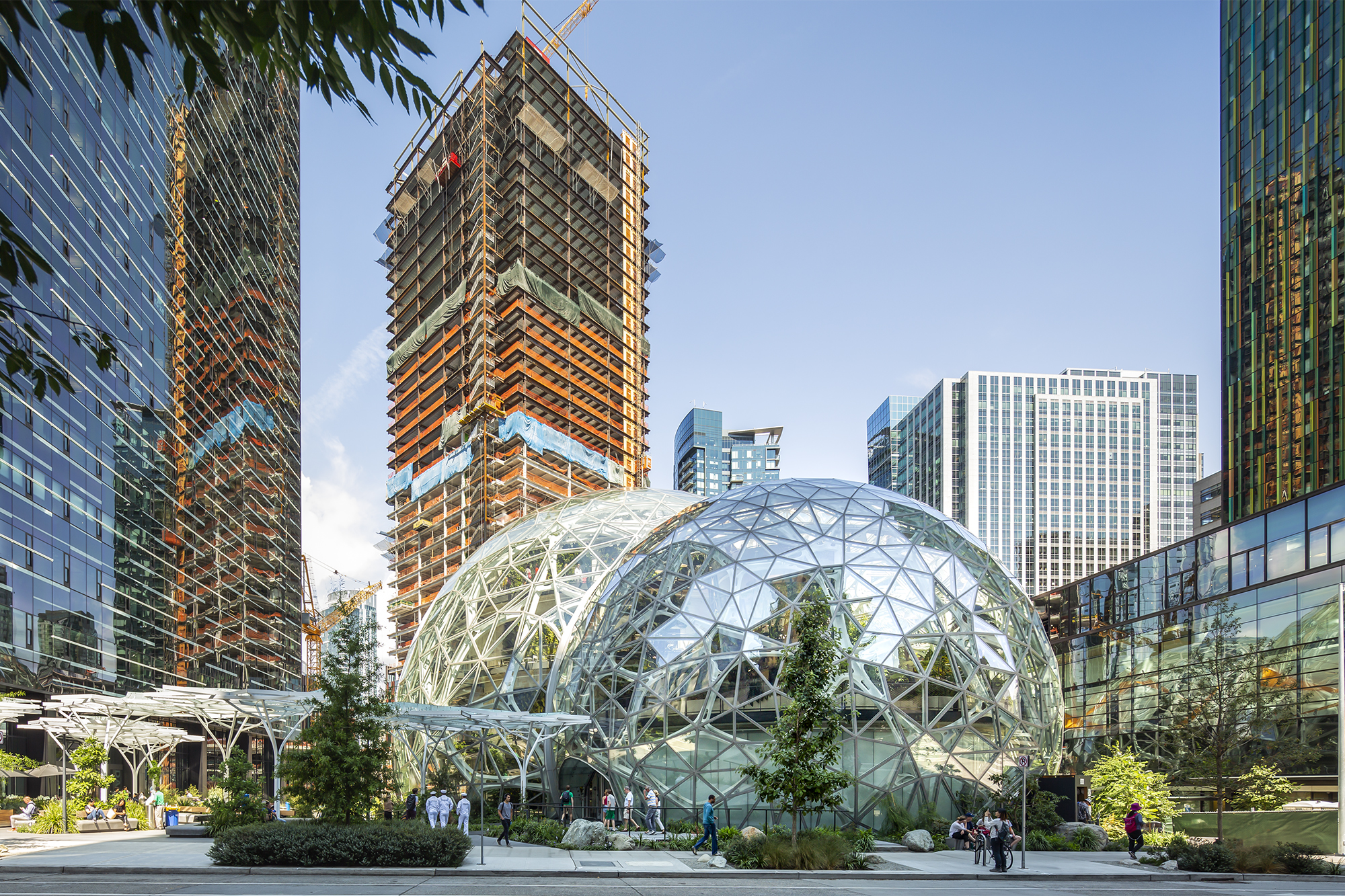 Amazon S Seattle Spheres And The Evolution Of The