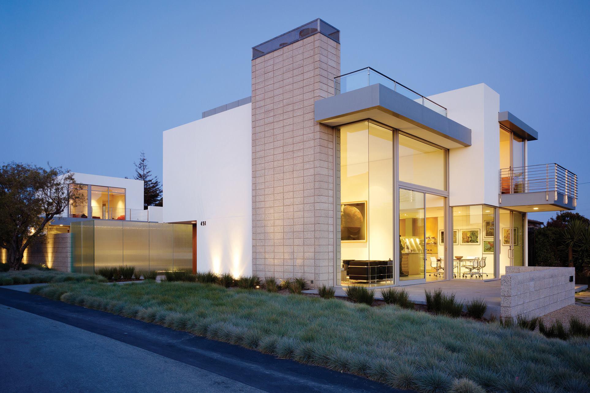 Zeidler residence aptos calif custom home magazine - Limposante residence contemporaine de ehrlich architects ...