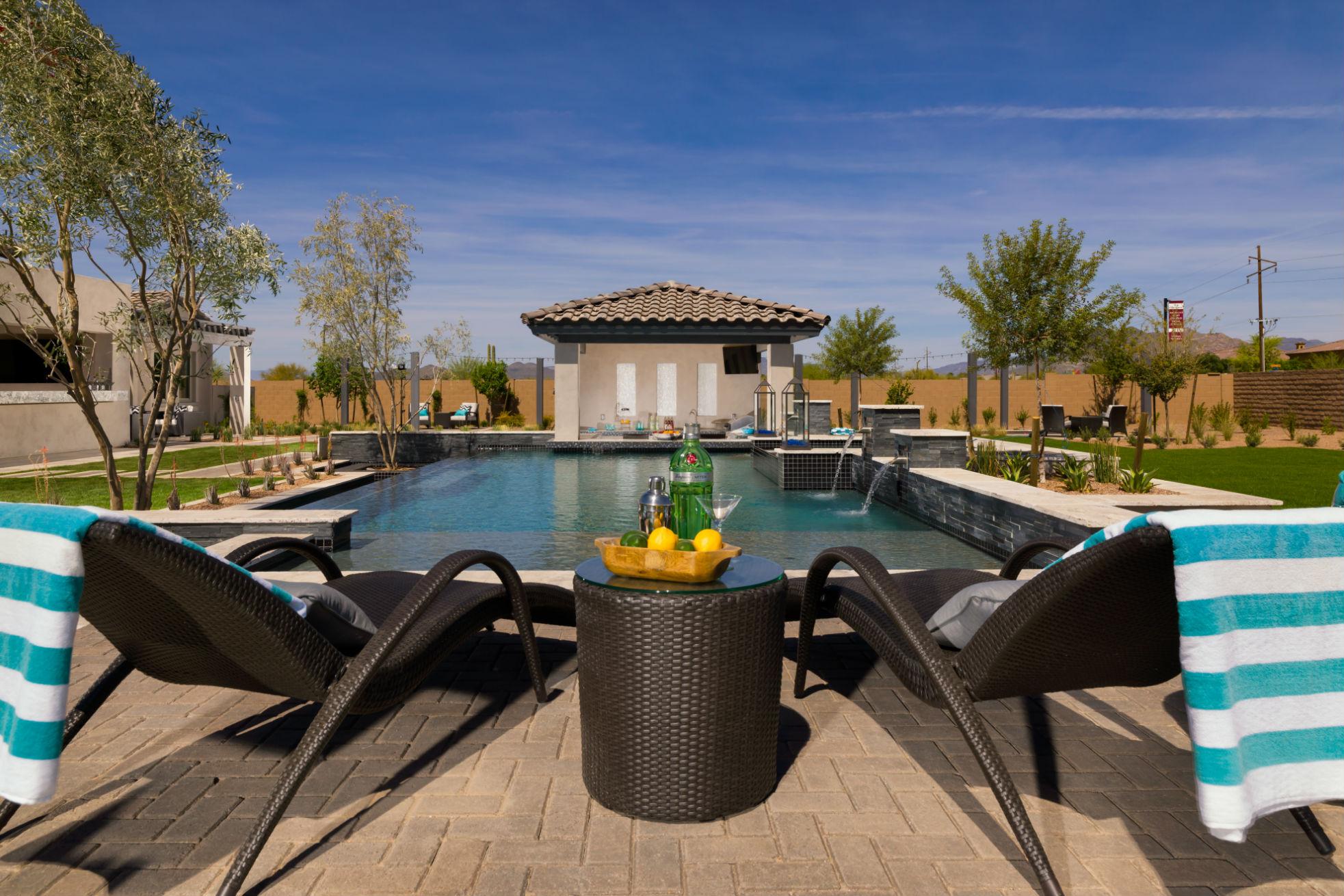 Outdoor Living Space Backyards