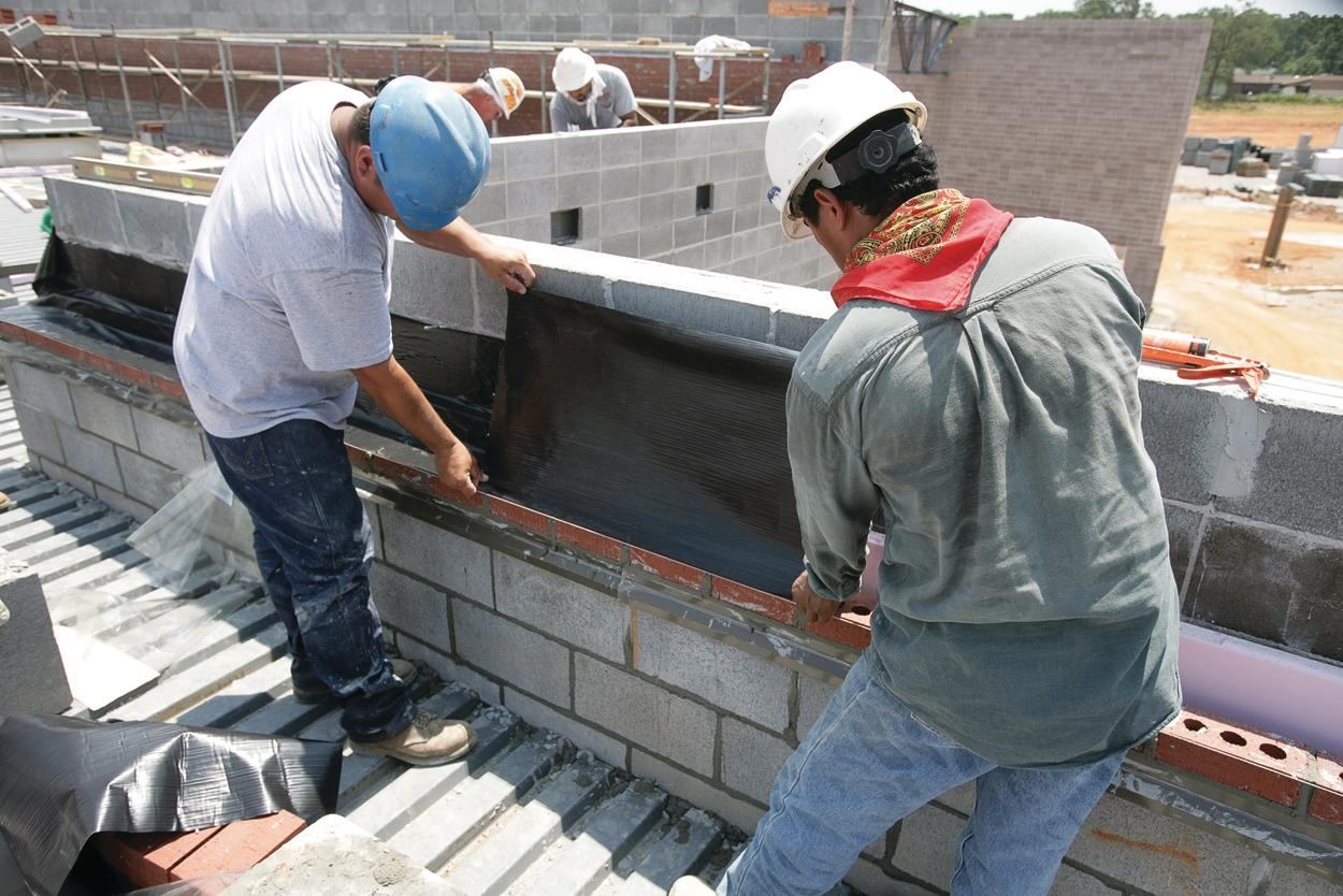 Tamko Building Products Tw Thru Wall Flashing Concrete