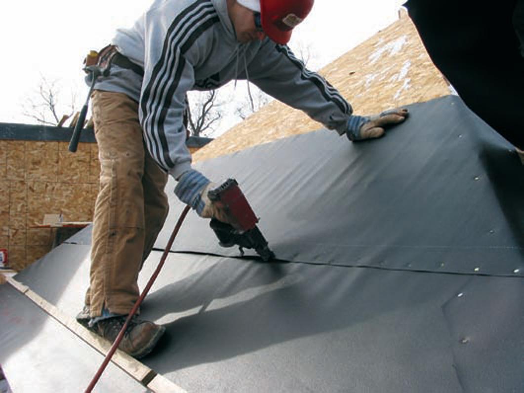 Monier Lifetile Strongseal Underlayment Remodeling