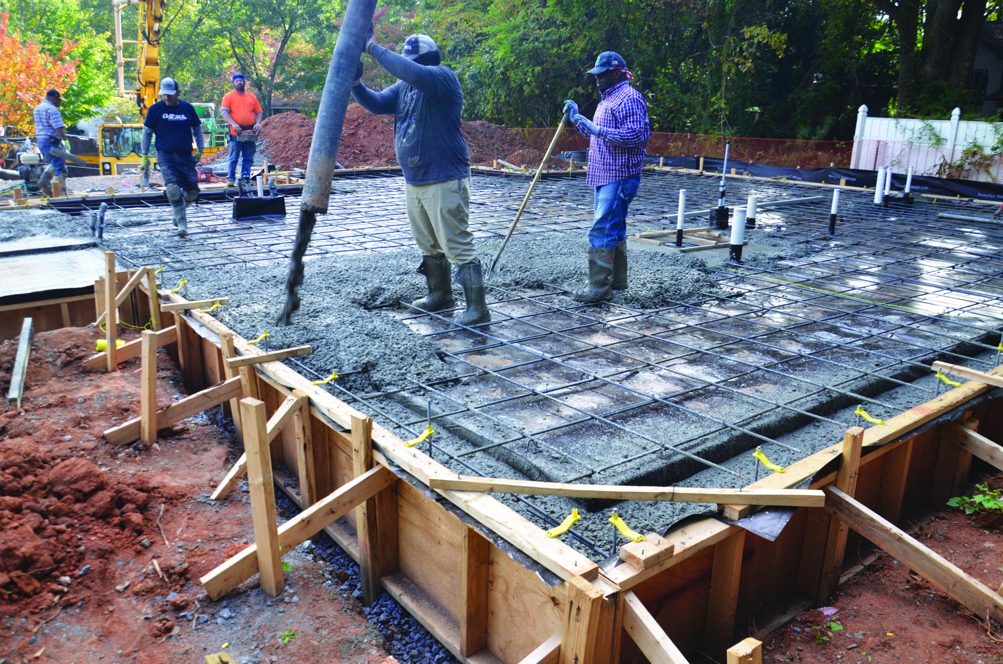 High Performance Concrete Slab