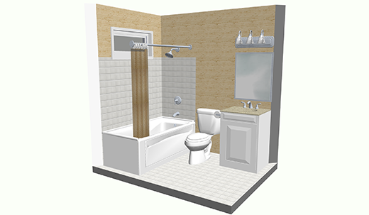 Cost Vs Value Project Universal Design Bathroom Remodeling