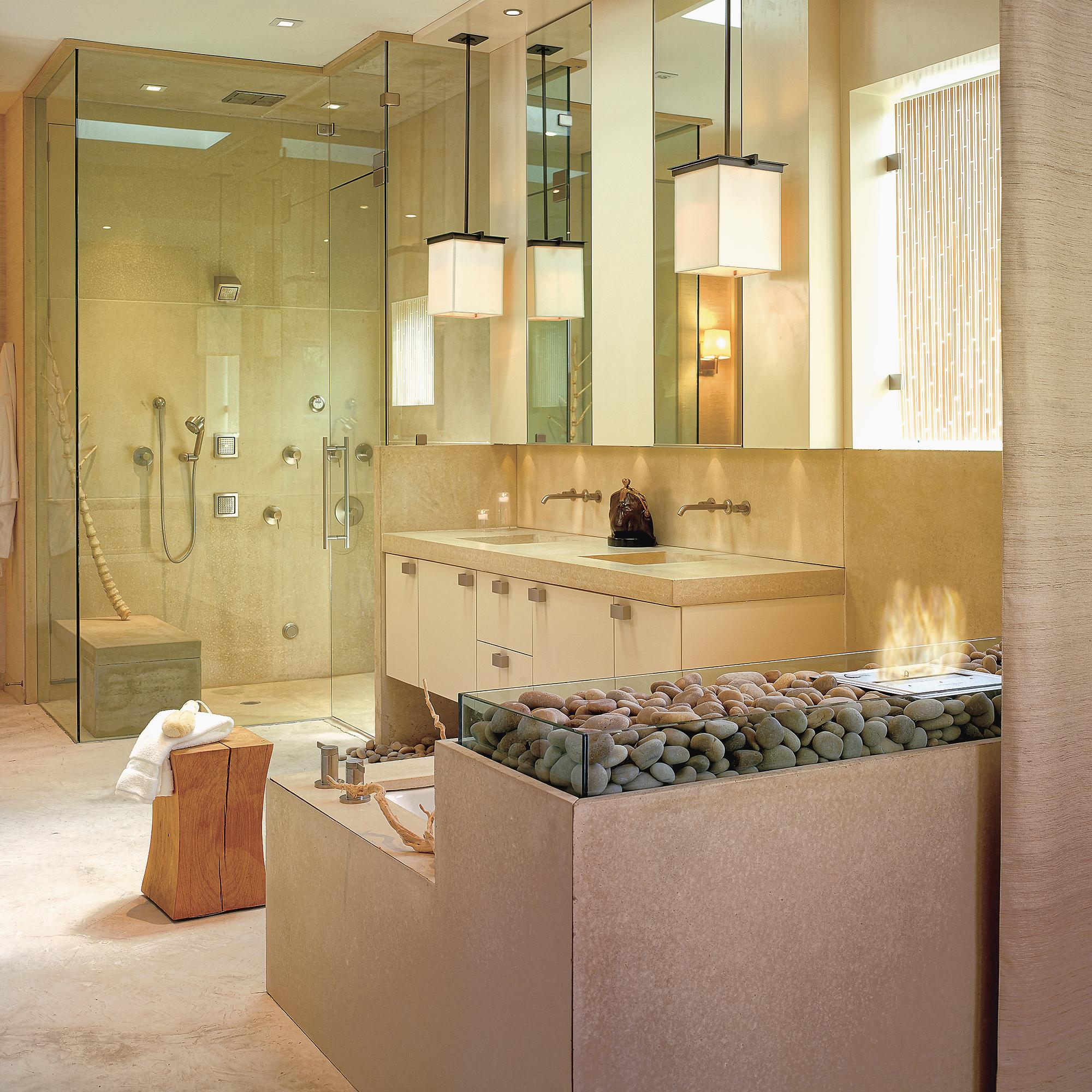 Pendant Drop: Tips for Incorporating Pendant Lights Into a Bathroom ...