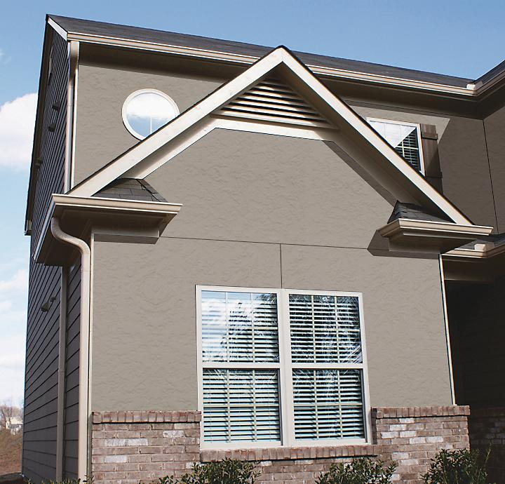 how to cut stucco siding