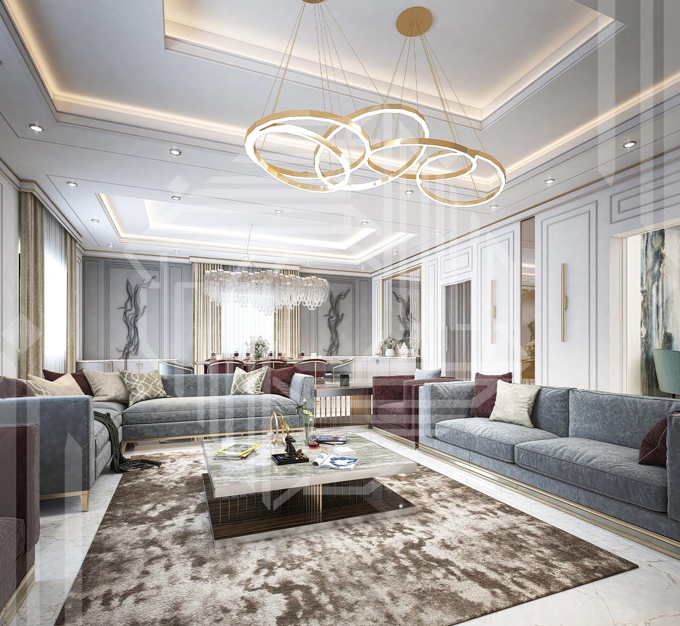 Luxury Modern Living Area Architect Magazine