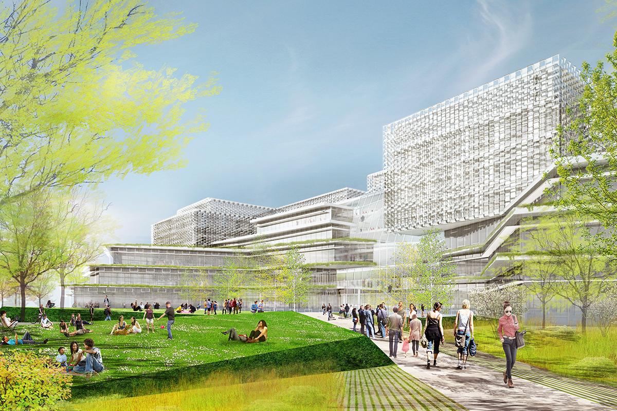 Harvard university science and engineering complex - Behnisch architekten boston ...