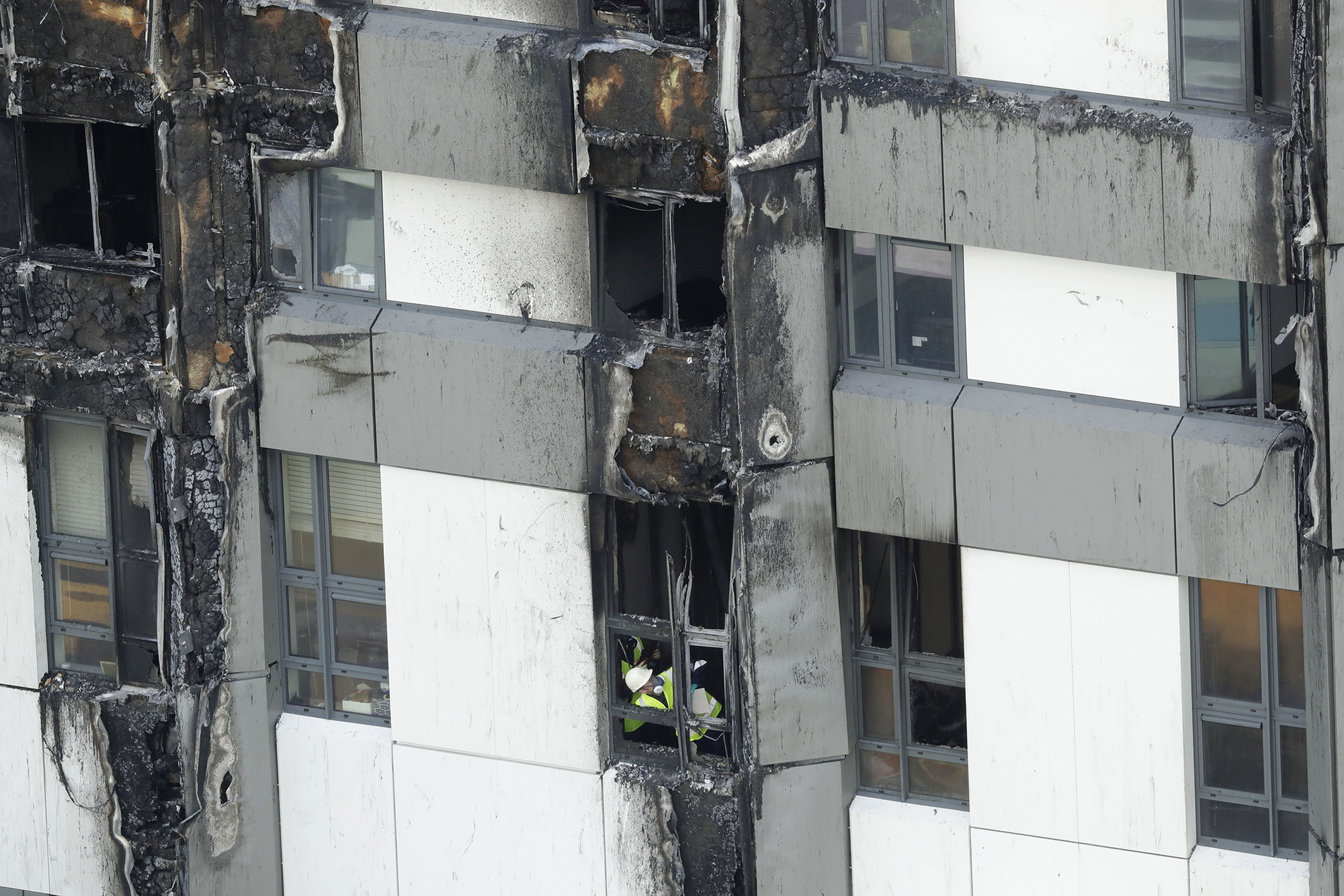 Grenfell Tower Fire Safety Tests Continue Architect
