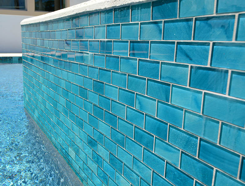 Artistry In Mosaics Releases Aqua Subway Tiles Pool Amp Spa