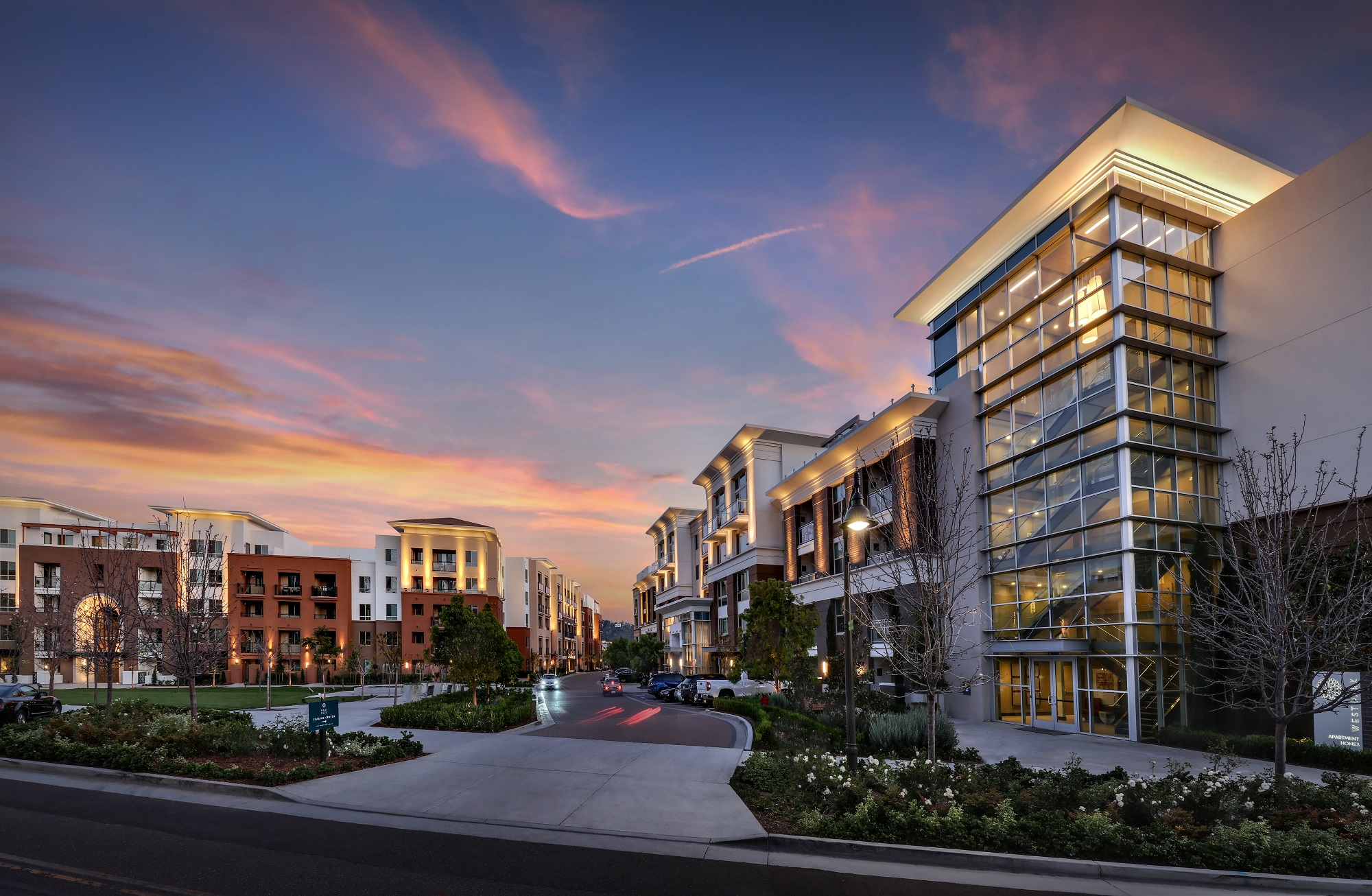 Luxury apartments at san diego multi use development near full occupancy multifamily executive - Apartment buildings san diego ...