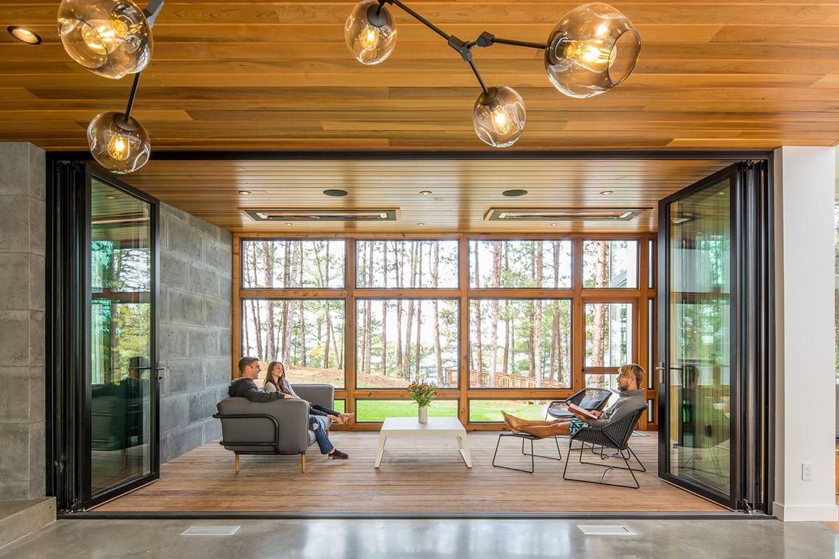 Northern Lake Home Architect Magazine Strand Design MN Single