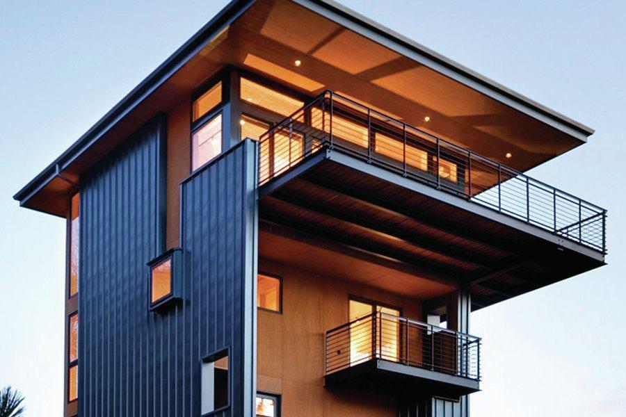 Glen Lake Tower Custom Home Magazine Award Winners
