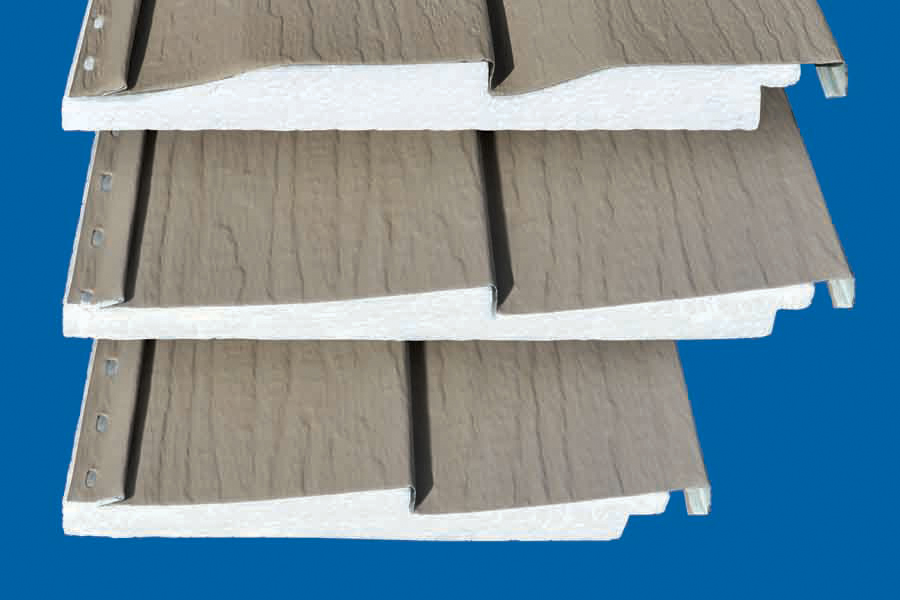 Rollex Insulated Steel Siding Panel Prosales Online Siding Insulation Exteriors Building Envelope