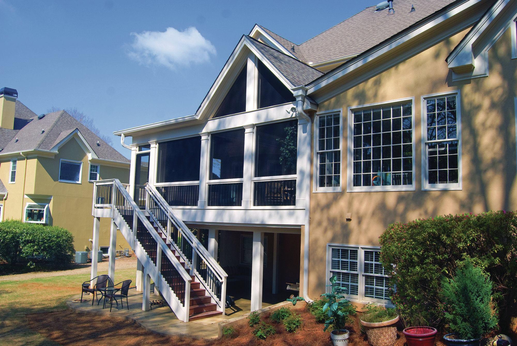 Designing Porch Roofs Professional Deck Builder