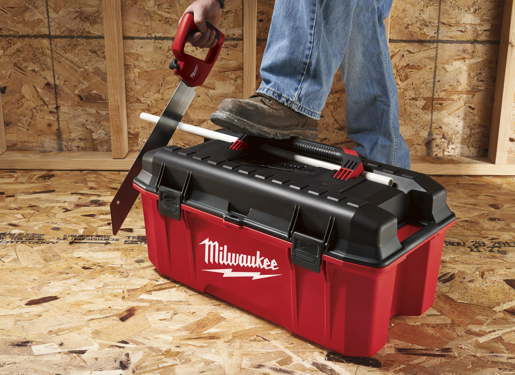 Milwaukee Introduces New Jobsite Work Box Tools Of The