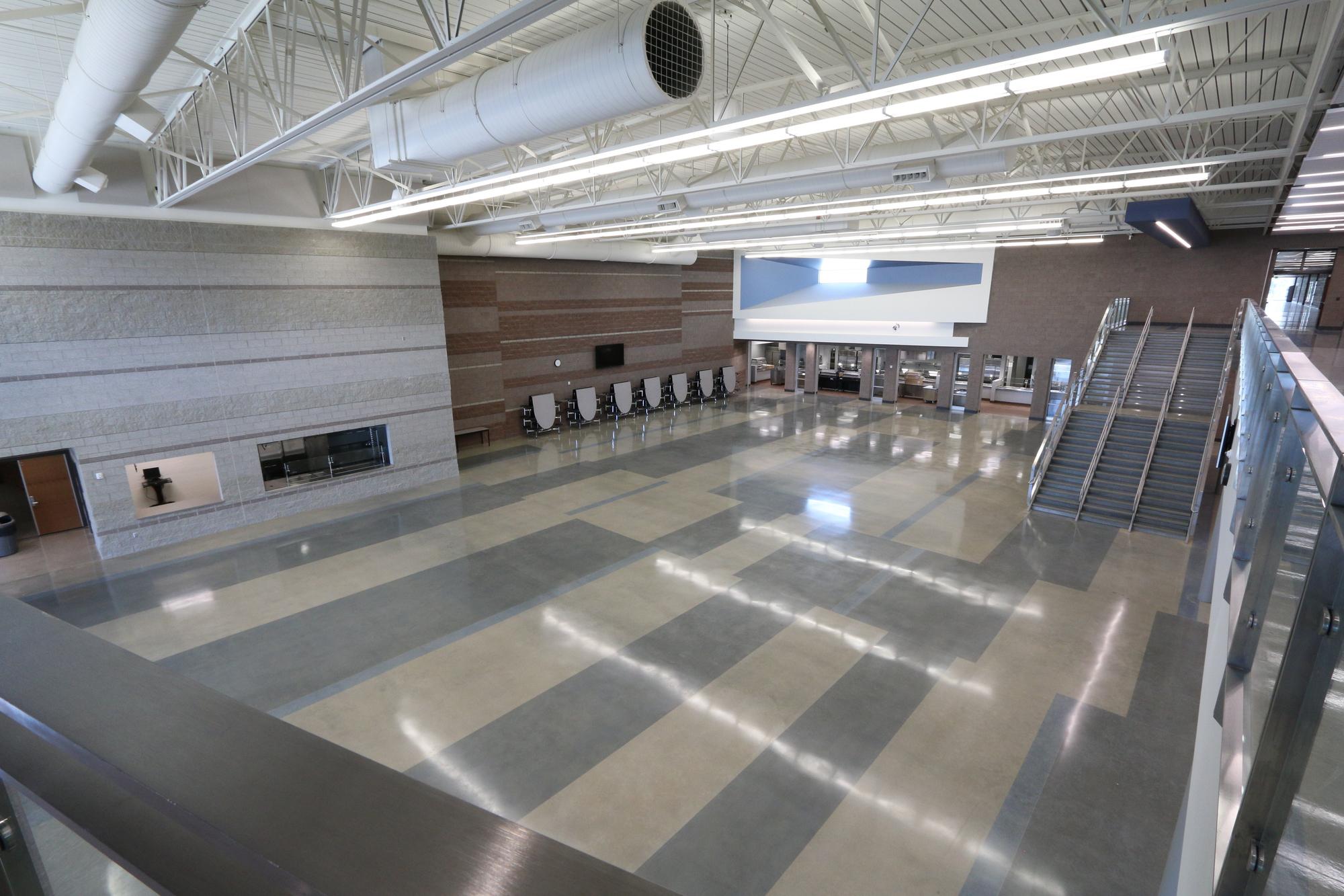 Hillcrest Junior High School Replacement Concrete
