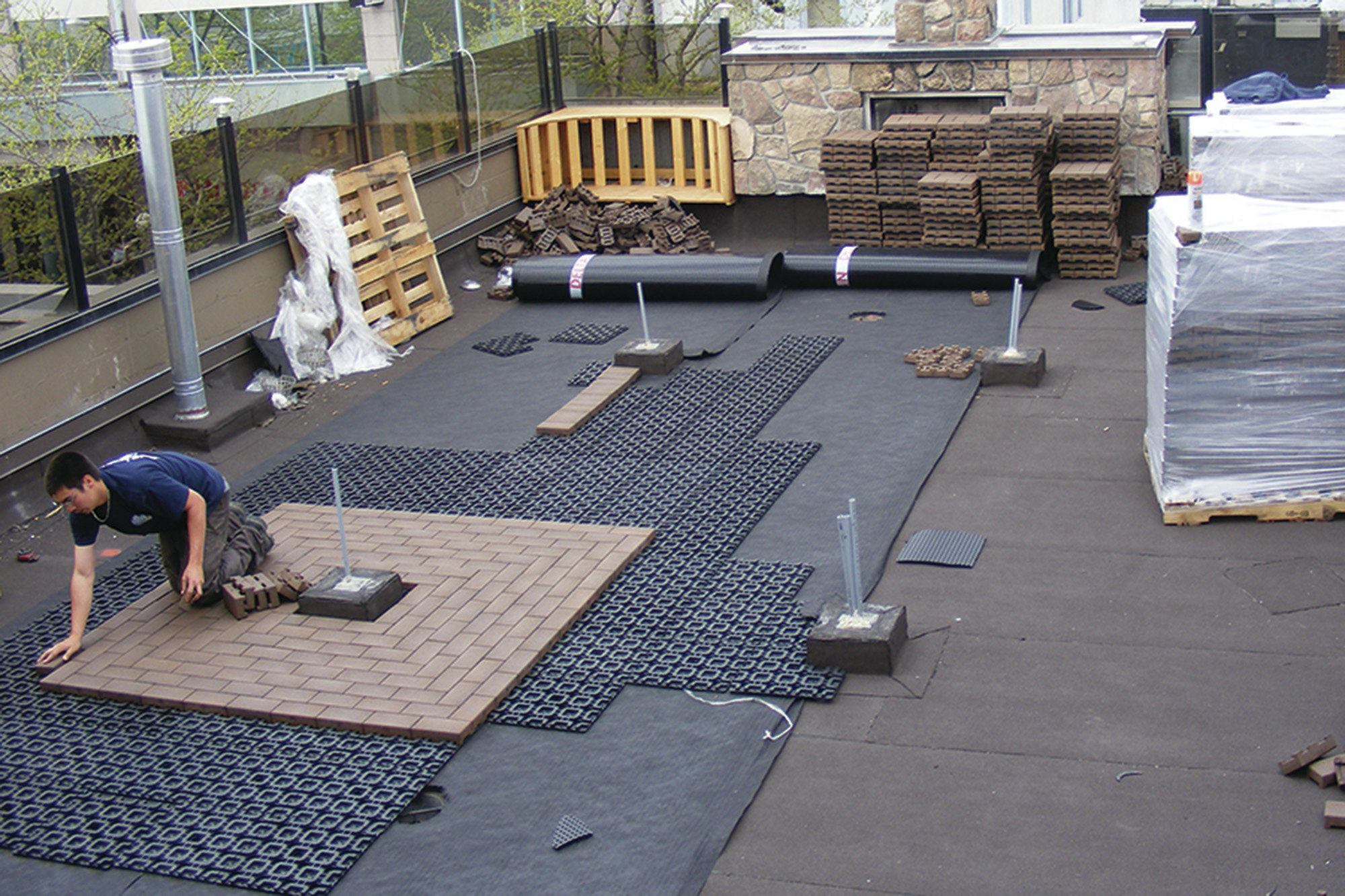 Pavers For Rooftop Decks Professional Deck Builder