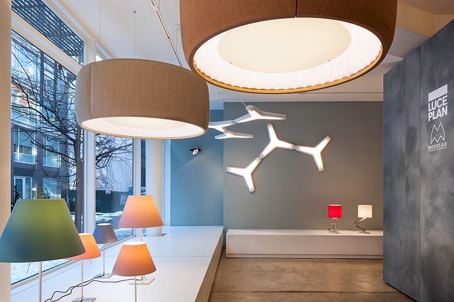 Luceplan And Modular Lighting Instruments Open New York