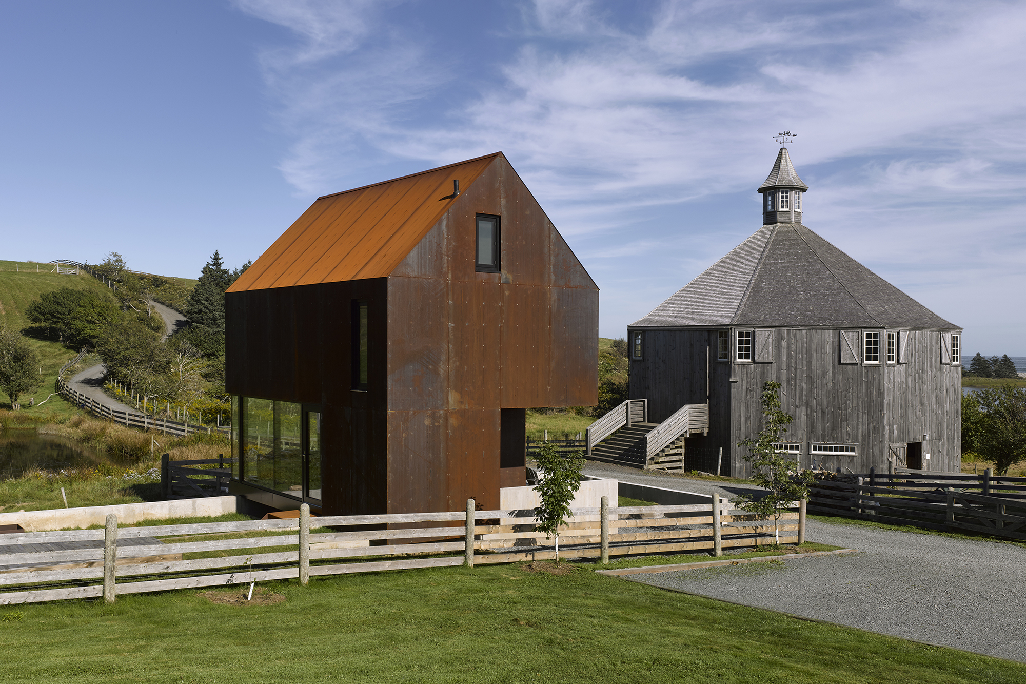 Enough house architect magazine mackay lyons for Small house designs nova scotia