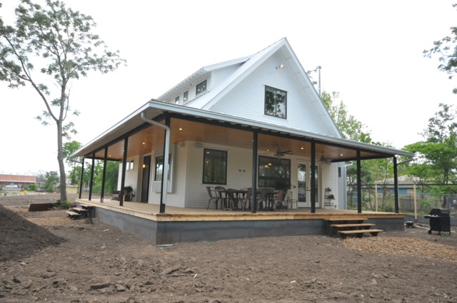 Exterior Details For A Modern Farmhouse Jlc Online