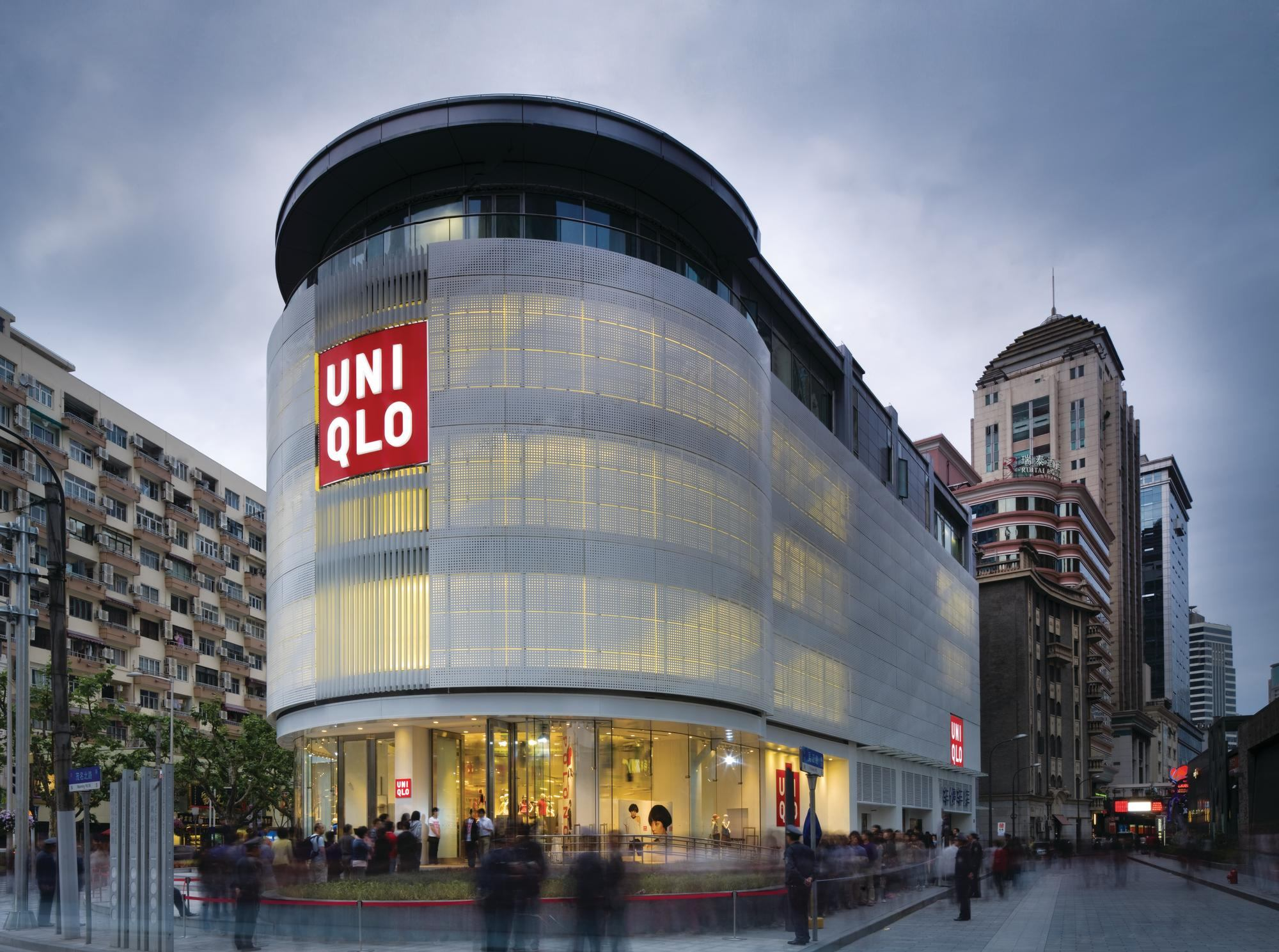 Uniqlo Shanghai Flagship Store Architect Magazine