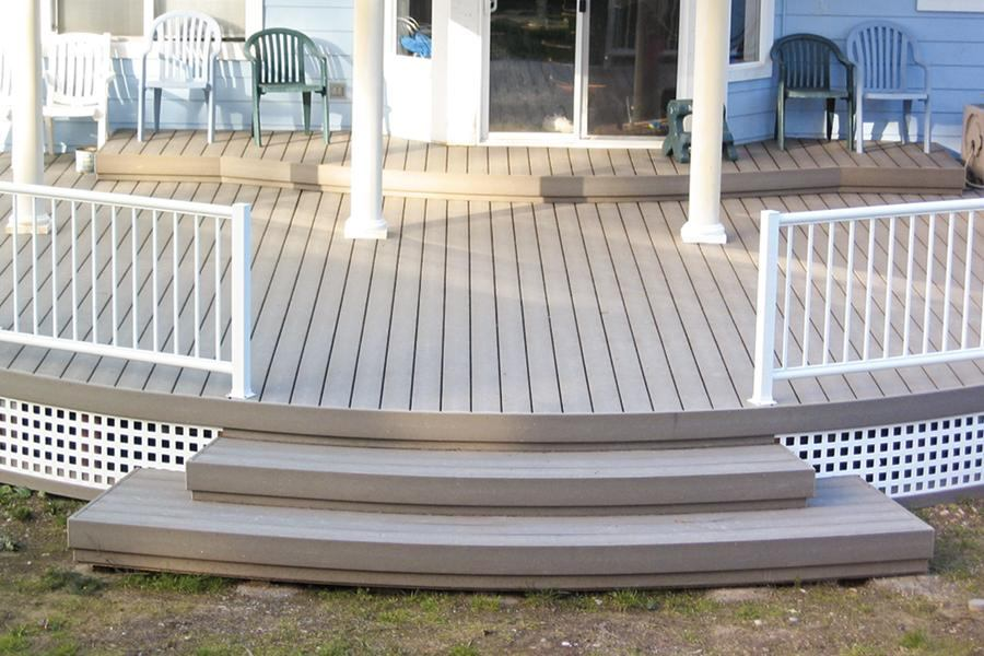 how to build a basic deck step