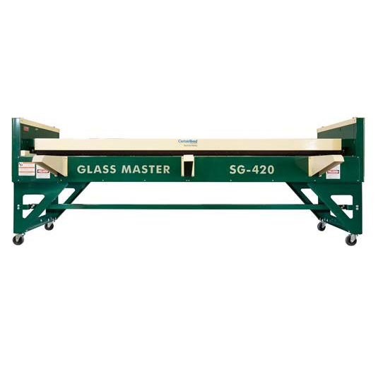 New Glass Master Sg 420 Duct Board Grooving Machine By
