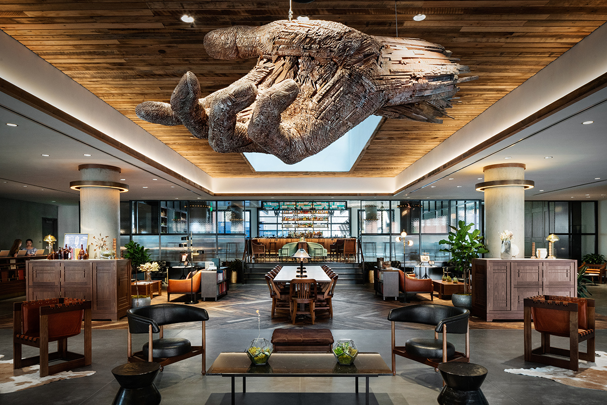 The Maven Hotel At Dairy Block Architect Magazine