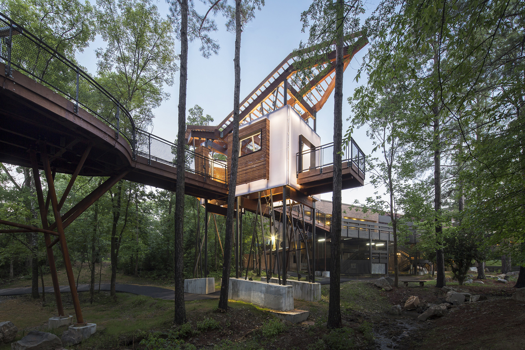 The Mid America Science Museum Treehouse Architect