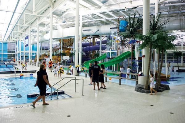 Suncor Community Leisure Centre at Macdonald Island Park| Aquatics ...