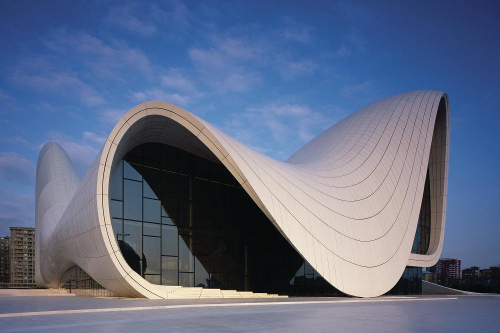 heydar aliyev cultural center architect magazine zaha hadid architects baku azerbaijan. Black Bedroom Furniture Sets. Home Design Ideas