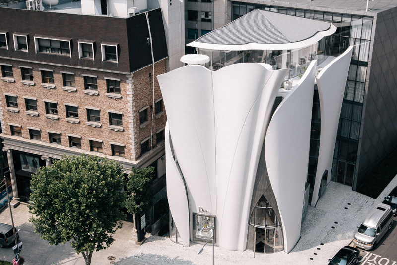 Seoul Dior Flagship Store Architect Magazine