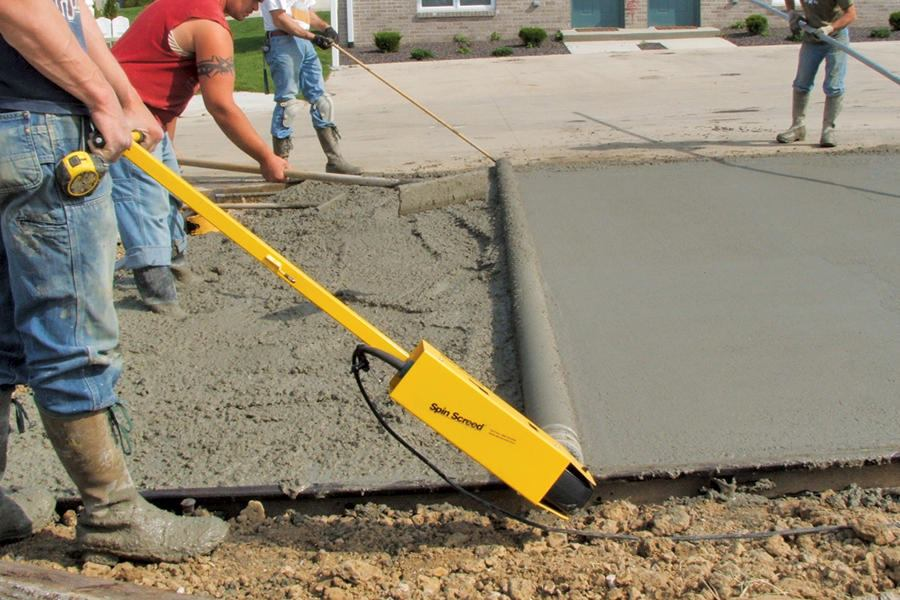 Spinscreed Spin Screed Concrete Construction Magazine