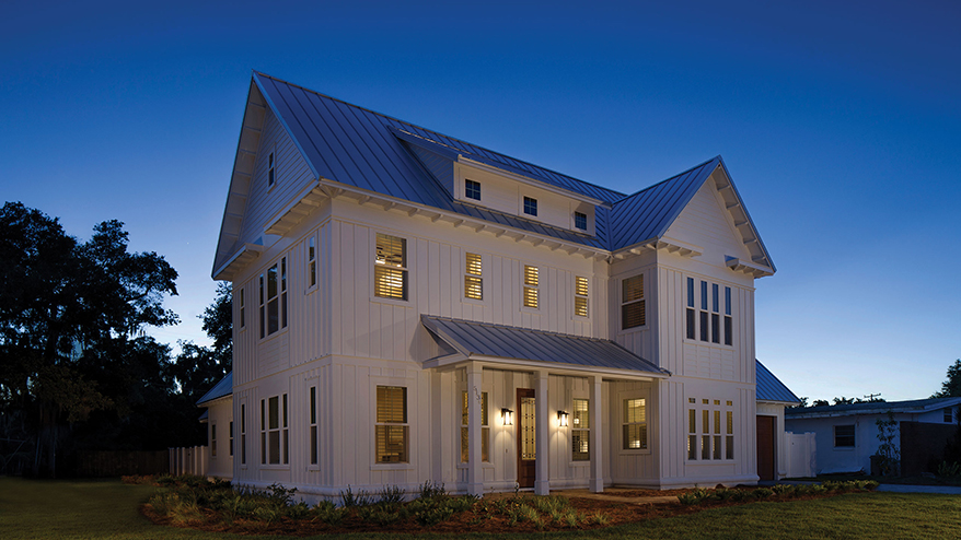 The new southern home a flexible farmhouse builder for Modern home builder magazine