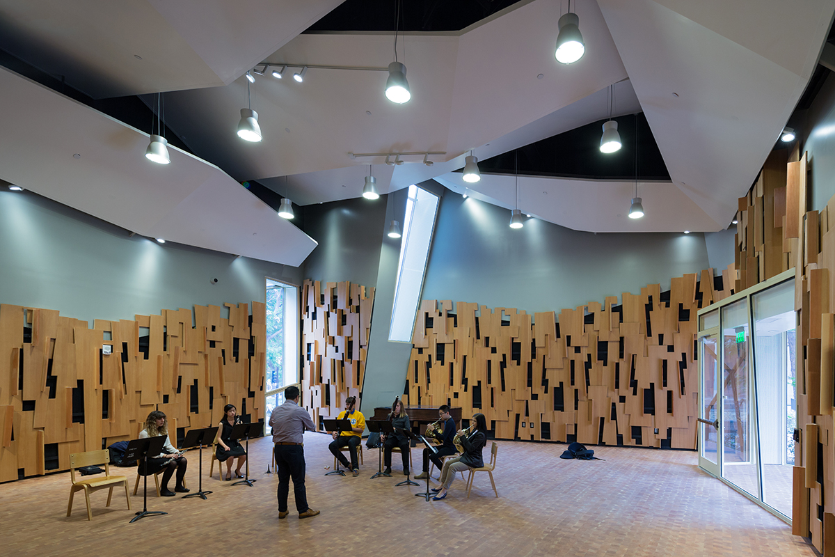 Evelyn And Mo Ostin Music Center At UCLA | Architect Magazine | Kevin Daly  Architects, Los Angeles, CA, Education, AIA|LA Design Awards 2017