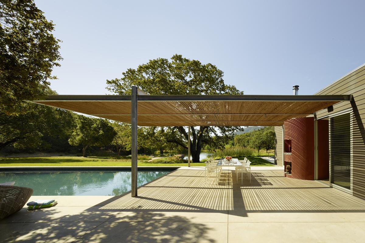 Sonoma residence residential architect turnbull - Residence calistoga strening architects californie ...