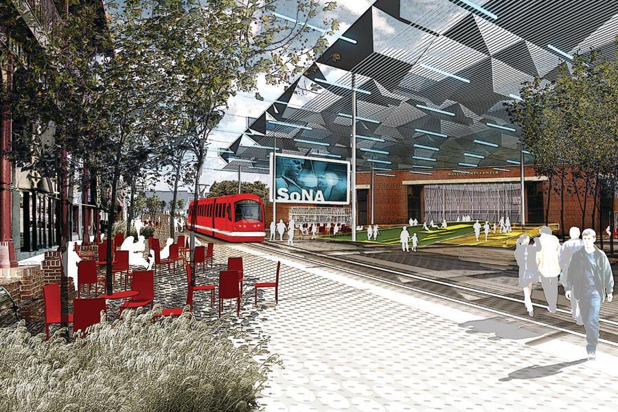 Fayetteville 2030 Transit City Scenario Architect Magazine