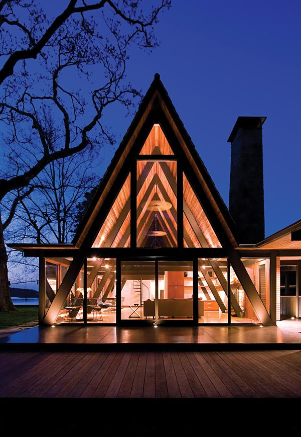 Weeks House Architect Magazine Louisville TN United States Simple A Frame Remodel