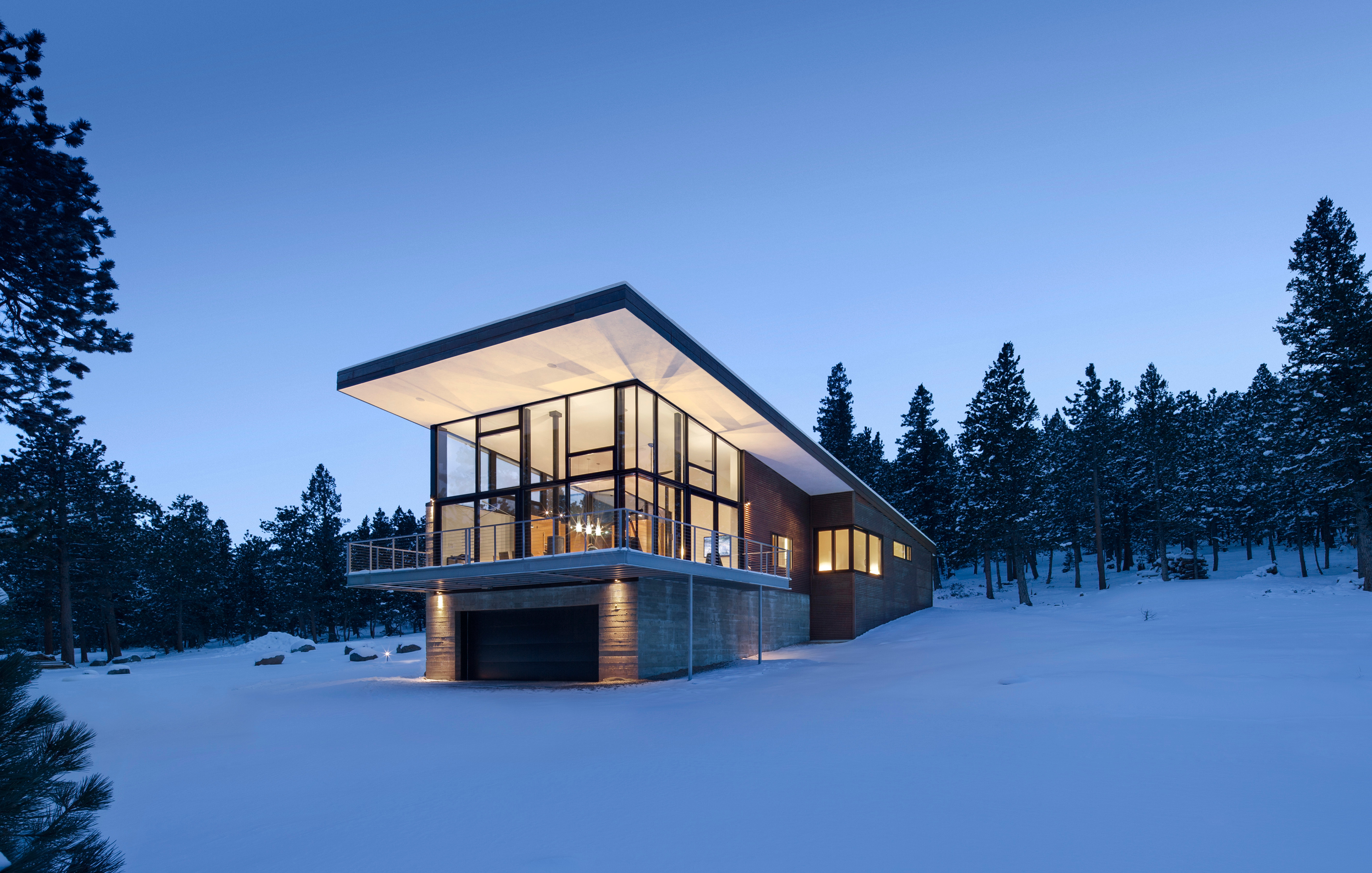 Lodgepole Retreat Architect Magazine Arch11 Inc