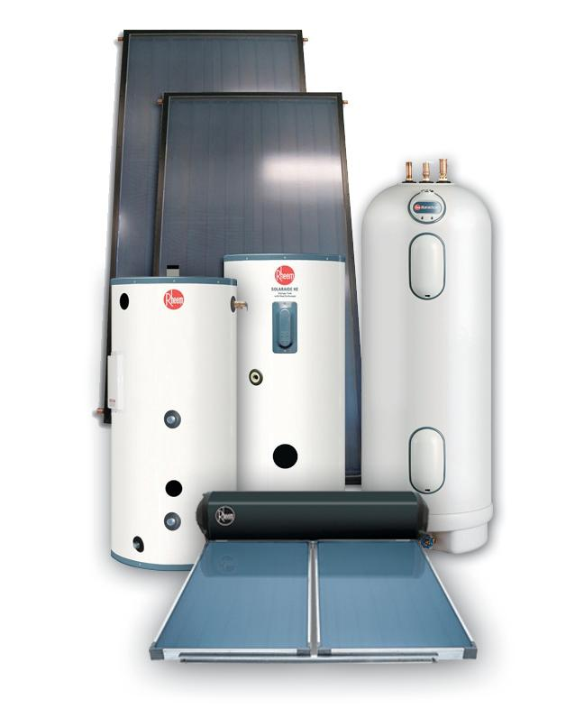 Rheem Hot Water Heaters >> Rheem SolPak Solar Water Heating Systems | Remodeling ...