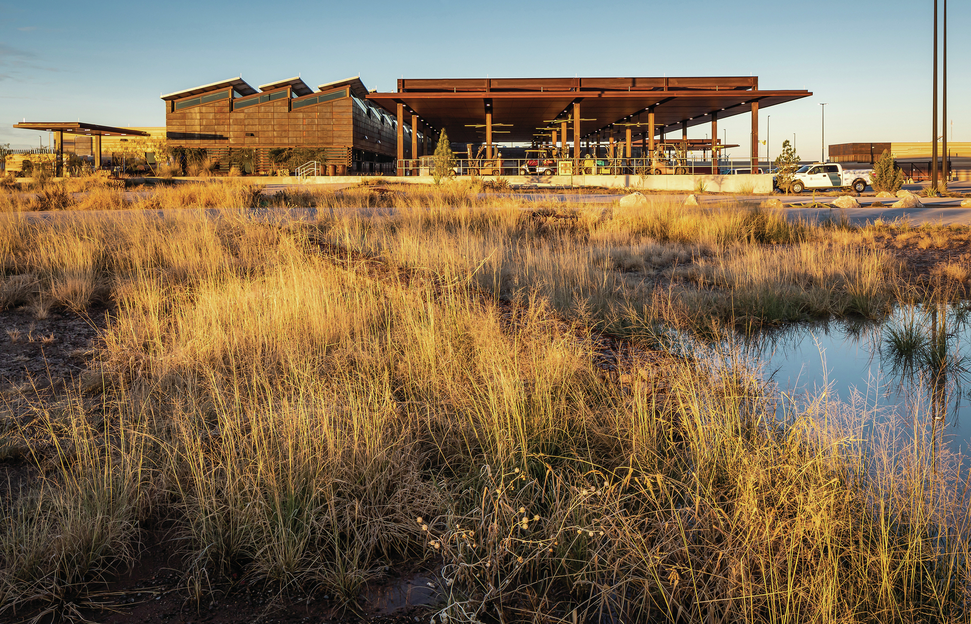 U.S. Land Port of Entry, Columbus, N.M., by Richter Architects