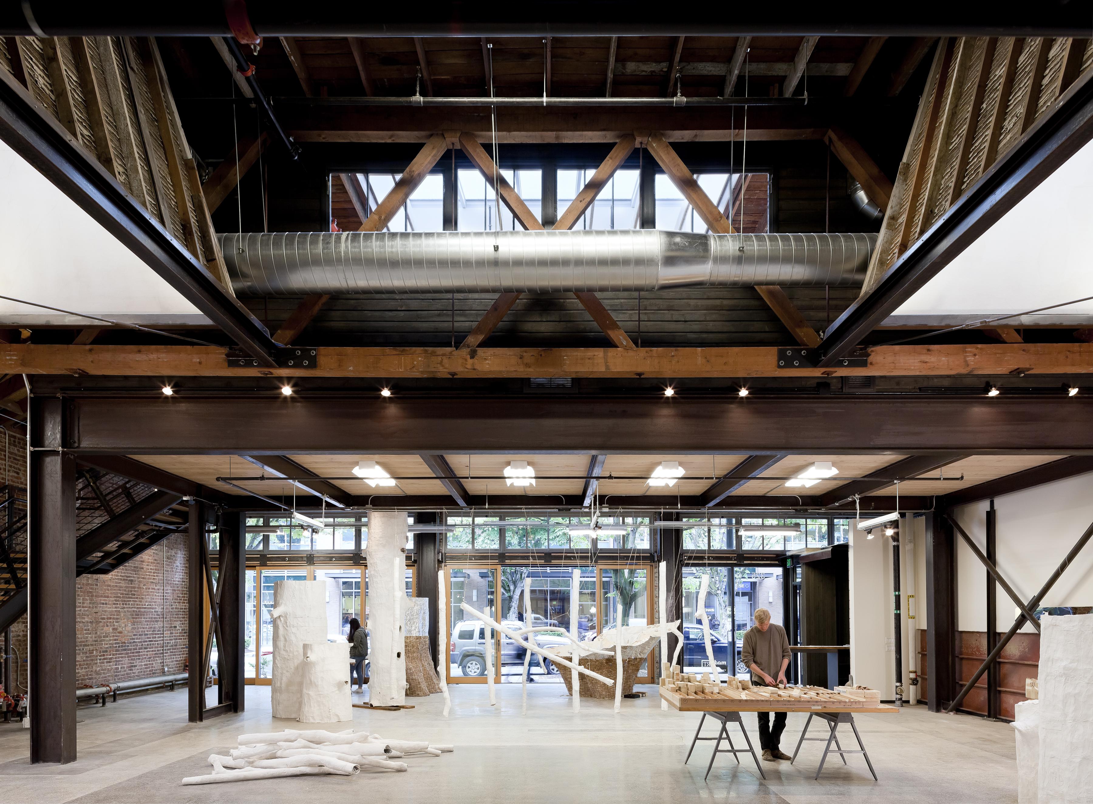325 westlake madart architect magazine graham baba architects seattle wa commercial for Art institute interior design reviews